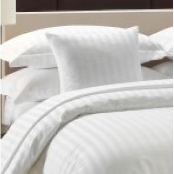 Viengulis antklodės užvalkalas HOTEL, juostuoto, maišyto satino 150 gr/m2, 150*220cm