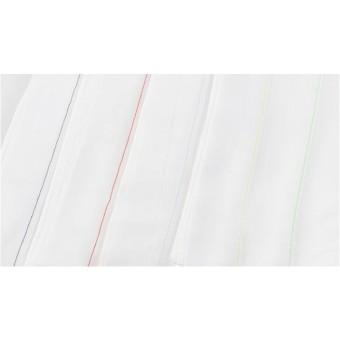 Paklodė COMFORT 160x280 cm raudona juostelė