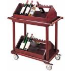 Aptarnavimo vežimėlis gėrimams