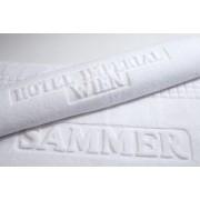 Frotinis rankšluostis su reljefiniu logotipu