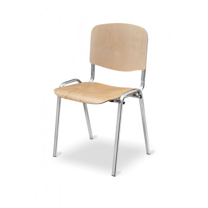 ISO medinės kėdės